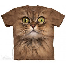 Футболка The Mountain Big Face Brown Cat